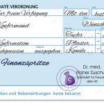 Geldgeschenk Finanzspritze Rezept Konfirmation