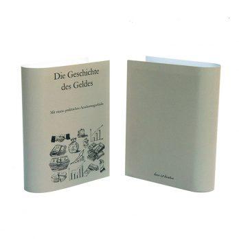 Geldgeschenk Buch Geschichte  Geldes
