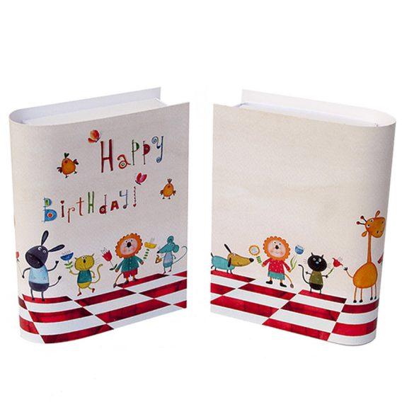 Geschenkschachtel Happy Birthday