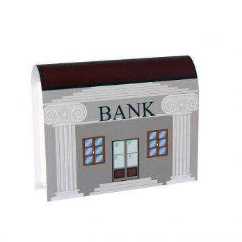 Geldgeschenkbox Buch Bank