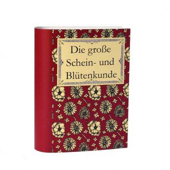 Geldgeschenk Garten Buch – Geschenkschachtel in Buchform mit originellem Wortspiel
