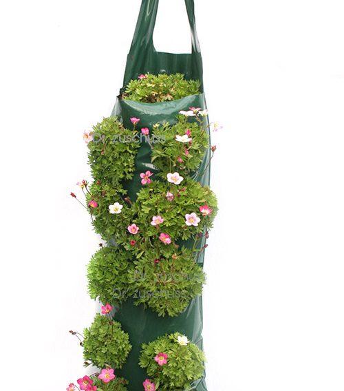 Pflanzbeutel zum Aufhaengen - ideal für grüne Wände