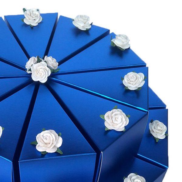 Gastgeschenke Hochzeit Schachteltorte geld verpacken